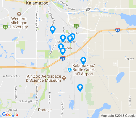 map of Millwood apartments for rent