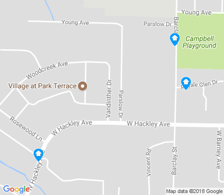 map of Campbell Field apartments for rent