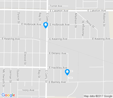 map of East Muskegon apartments for rent