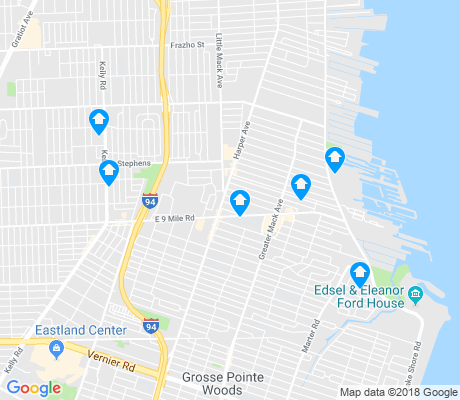 map of 48080 apartments for rent