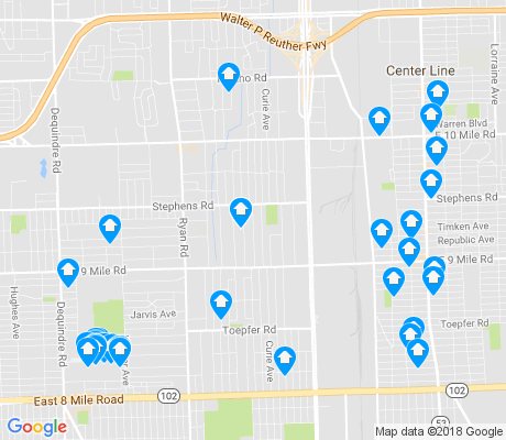 map of 48091 apartments for rent