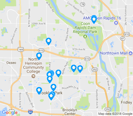 map of 55443 apartments for rent