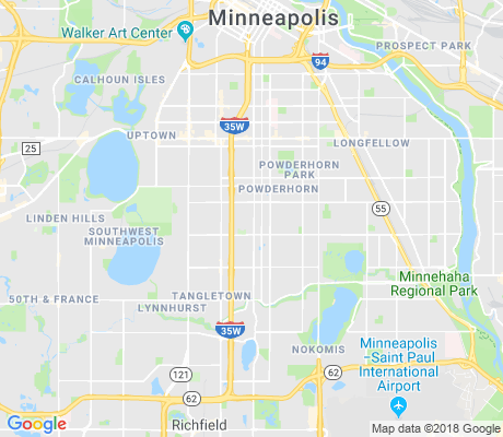 map of Bryant apartments for rent