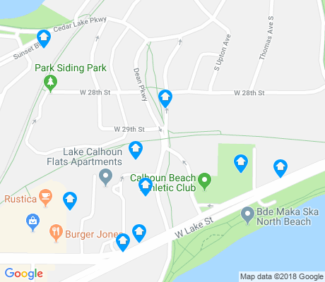 map of Cedar Isles - Dean apartments for rent