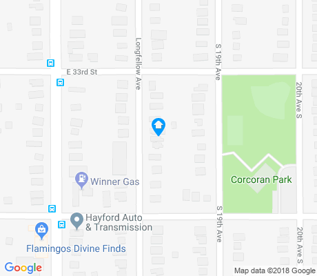 map of Corcoran apartments for rent