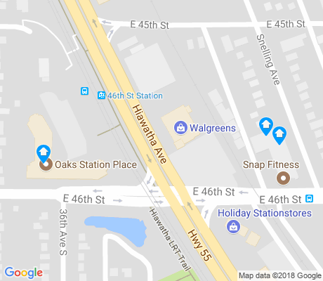 map of Ericsson apartments for rent