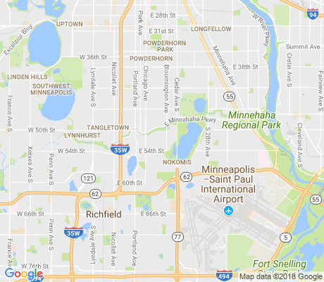 map of Hale apartments for rent