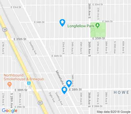map of Howe apartments for rent