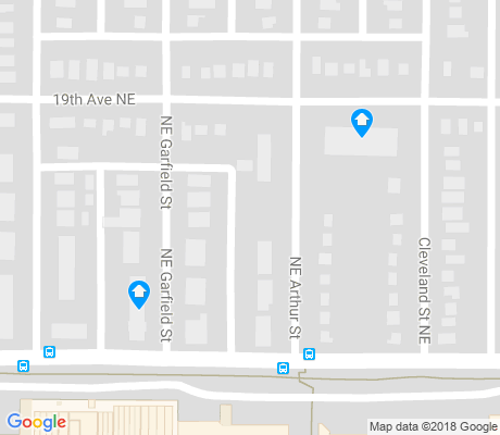 map of Windom Park apartments for rent