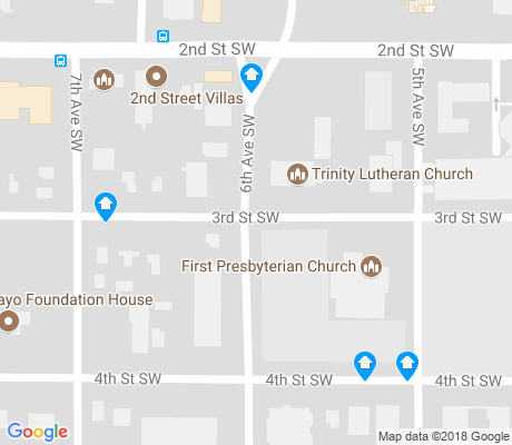 map of Historic Southwest apartments for rent