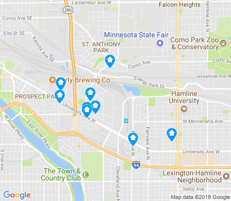 map of 55114 apartments for rent