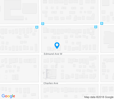 map of South Frogtown apartments for rent
