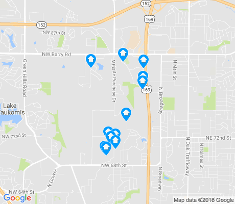 map of Barry Harbour apartments for rent