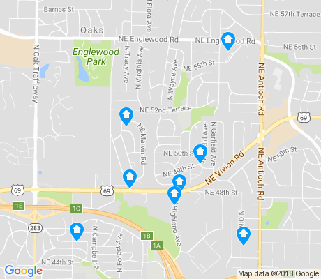 map of Davidson apartments for rent