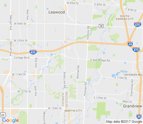 map of Foxcroft and Glen Arbor apartments for rent
