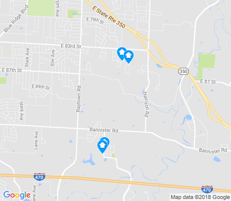map of Highview Estates apartments for rent