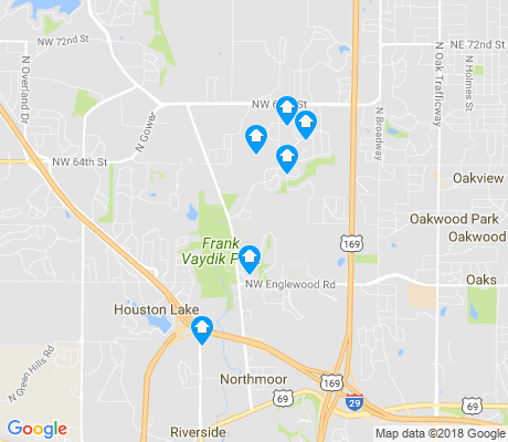 map of Line Creek - Northern Heights apartments for rent