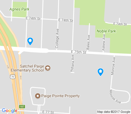 map of Marlborough East apartments for rent