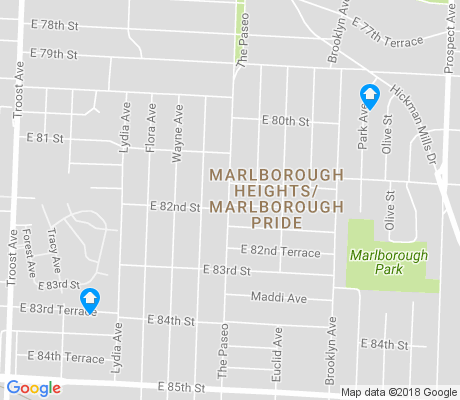map of Marlborough Heights - Marlborough Pride apartments for rent