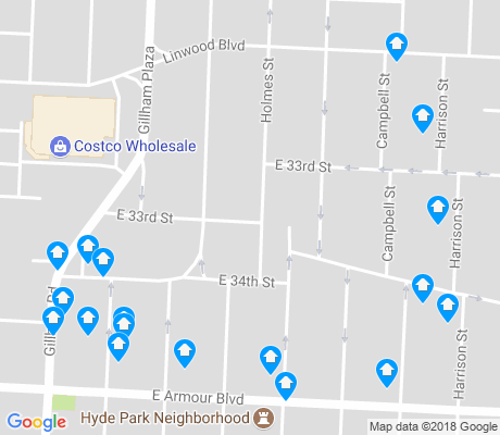 map of North Hyde Park apartments for rent