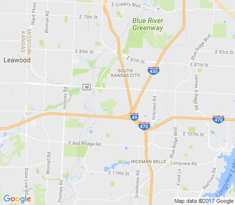 map of Oakwood apartments for rent