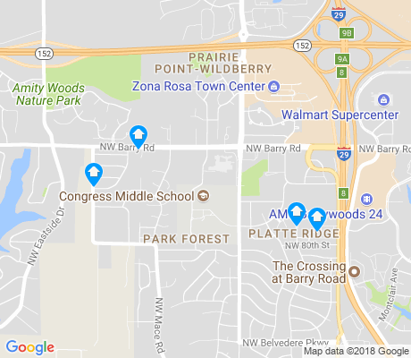 map of Park Forest apartments for rent