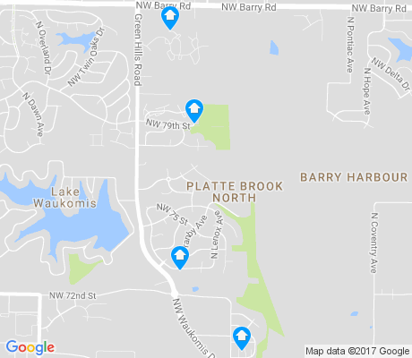 map of Platte Brook North apartments for rent