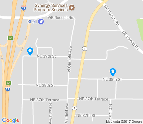 map of River Forest apartments for rent