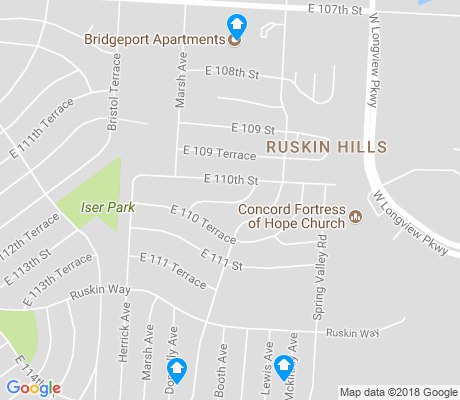 map of Ruskin Hills apartments for rent