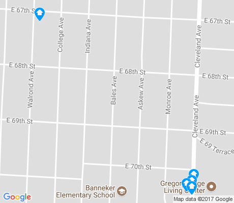 map of Self Help Neighborhood Council apartments for rent