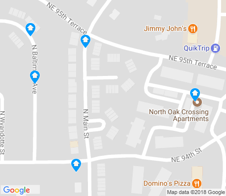 map of Sherrydale apartments for rent