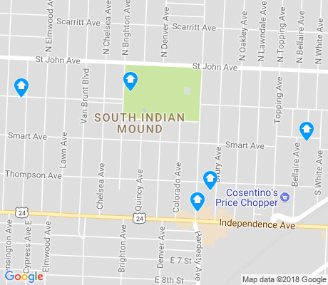 map of South India Mound apartments for rent