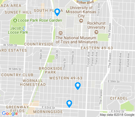 map of Western 49-63 apartments for rent