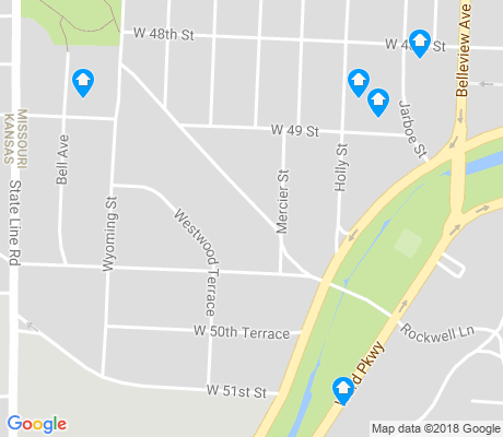 map of Westwood apartments for rent