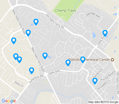 map of Old Jamestown apartments for rent
