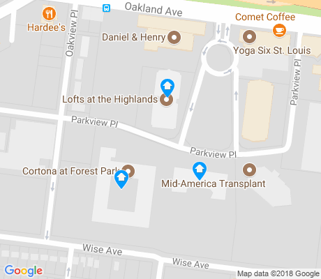 map of Cheltenham apartments for rent