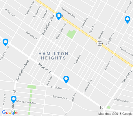 map of Hamilton Heights apartments for rent
