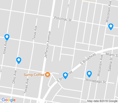 map of Marina Villa apartments for rent