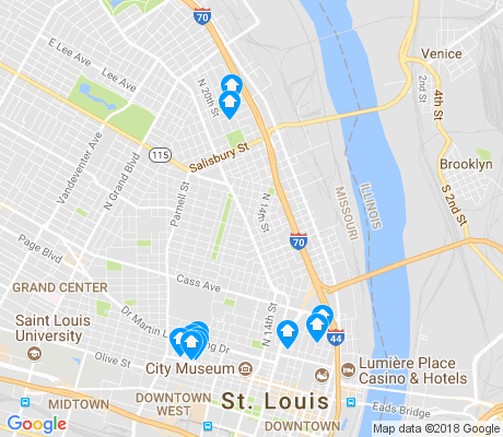 map of Near North Riverfront apartments for rent