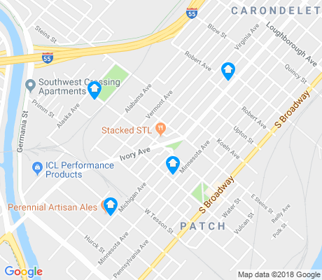map of Patch apartments for rent