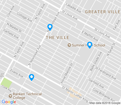 map of The Ville apartments for rent
