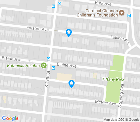map of Tiffany apartments for rent