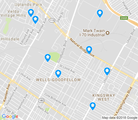 map of Wells-Goodfellow apartments for rent