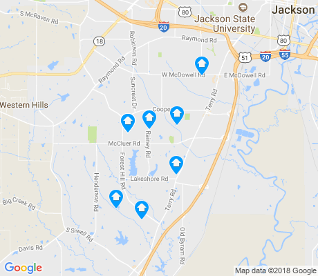 map of 39212 apartments for rent