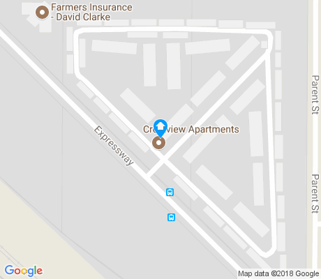 map of Grant Creek apartments for rent