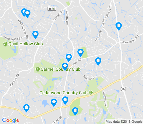 map of Olde Providence South apartments for rent