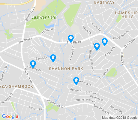map of Shannon Park apartments for rent