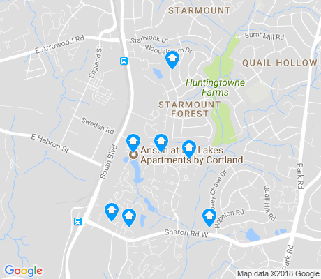 map of Starmount Forest apartments for rent