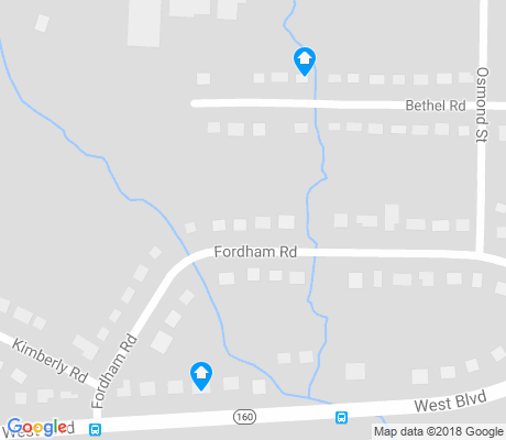 map of Westover Hills apartments for rent