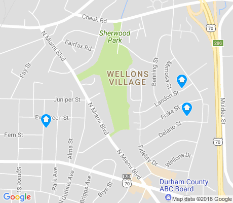 map of Wellons Village apartments for rent